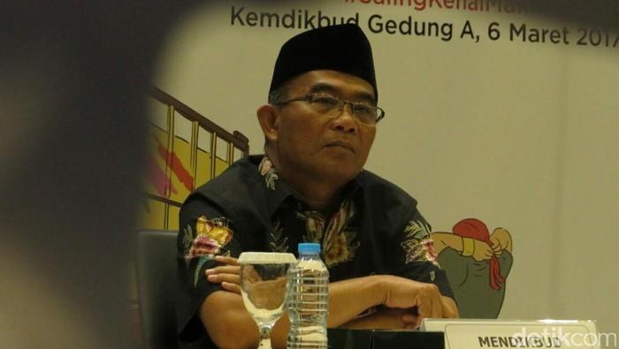 Foto: Mendikbud Muhadjir Effendy (Dika-detikcom)