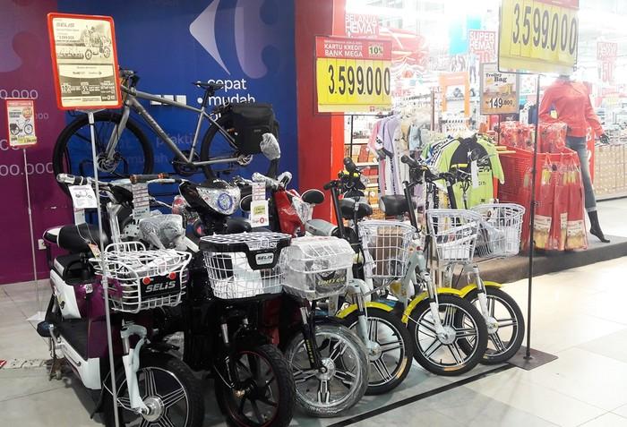 Bicycle Fair Transmart Dan Carrefour Tawarkan Sepeda Listrik