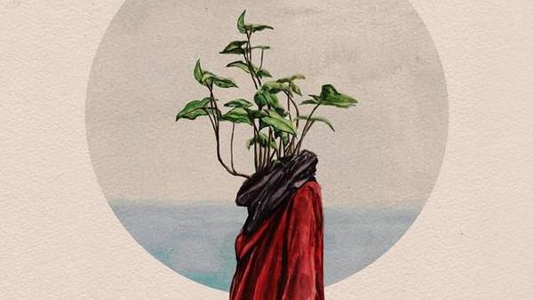 Lukisan Manusia-Tumbuhan Bambang Nurdiansyah Kerap Jadi Sampul Buku