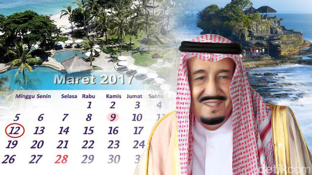 Hebohnya Liburan Raja Salman ke Bali