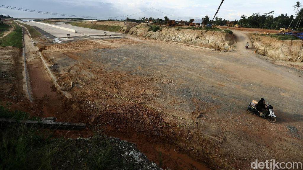 Pembebasan Lahan Tol Trans Sumatera di Riau Mencapai 70%