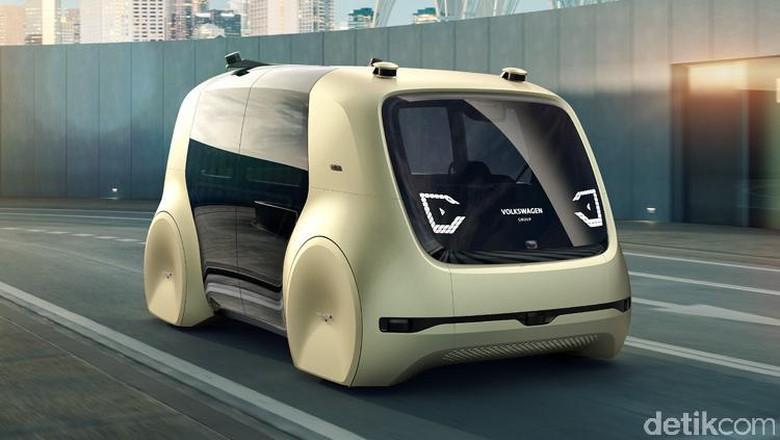 Mobil konsep VW untuk masa depan. Foto: Volkswagen