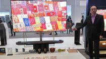 LG Innofest Asia Digelar, Pamer Televisi Setipis Koin