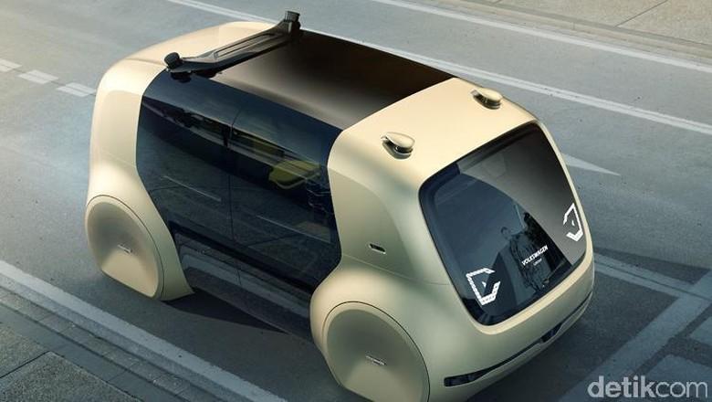 Mobil otonom VW (Foto: Volkswagen)