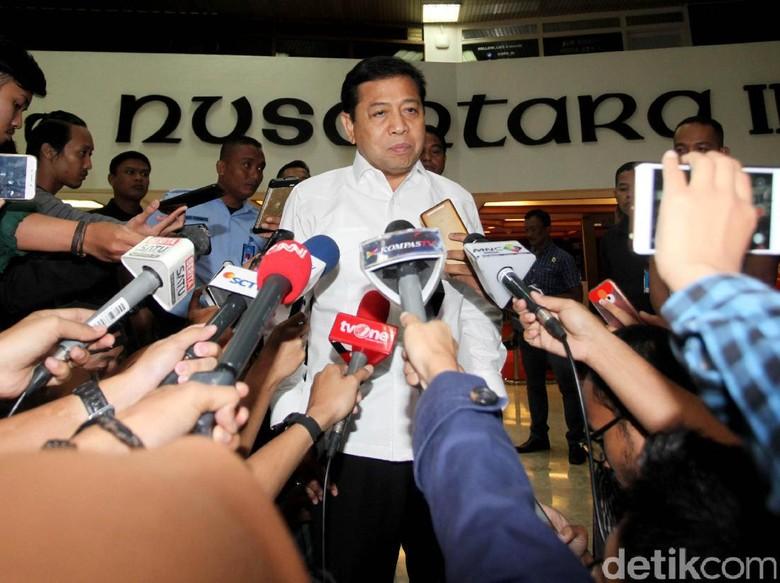 Tak Hadiri Pemeriksaan KPK, Novanto: Ada Rapat