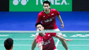 Memaknai Goyangan Kevin Sanjaya di Ujung Final China Terbuka