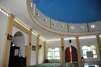 Bagian dalam masjid terlihat megah (Jafar/detikTravel)