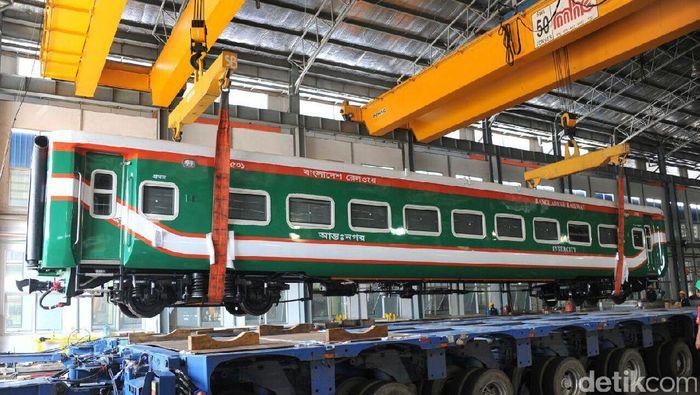 Kereta buatan INKA, diekspor ke Bangladesh/Foto: Dok. PT INKA