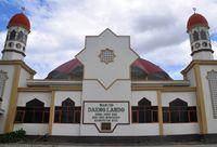 Penampakan cantiknya Masjid Daeng Lando (Jafar/detikTravel)
