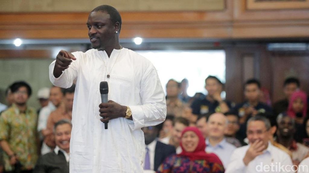 Rapper Akon Jadi Pemilik Kota di Senegal