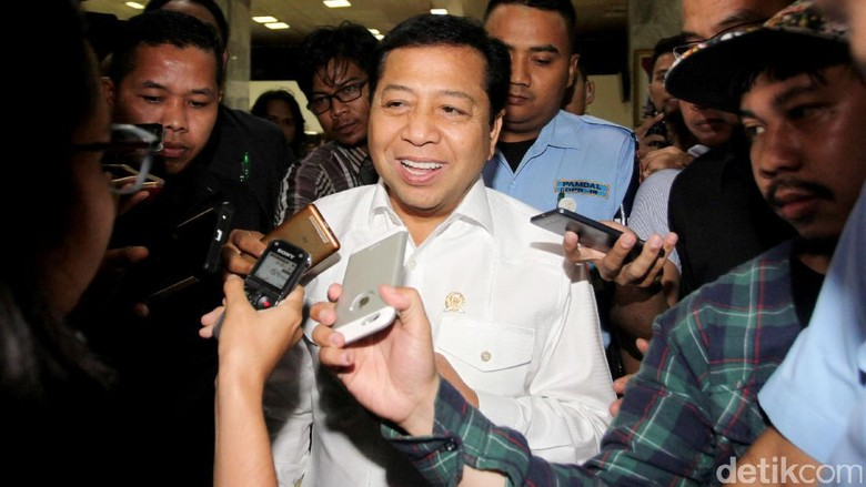 Tak Sampaikan Keberatan Cekal, Novanto Janji Kooperatif dengan KPK