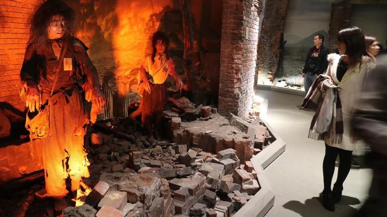 Korban Bom Nagasaki & Hiroshima