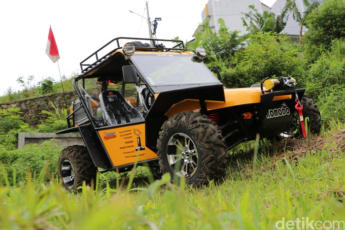 Mobil nasional Fin Komodo buatan Cimahi