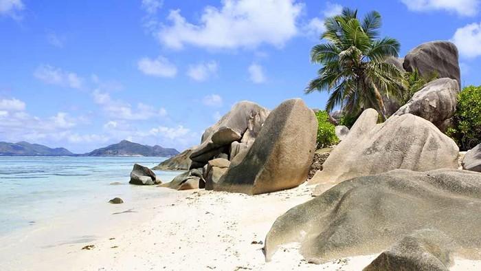 Ilustrasi keindahan Seychelles