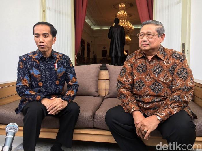 Jokowi bertemu SBY