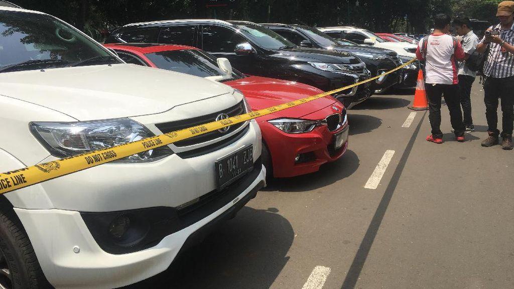 Parah! 1.000 Mobil Mewah di Jakarta Nunggak Pajak