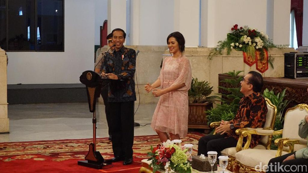 Cerita Jokowi Diprotes soal Raisa dan Bella Nikah dengan WNA