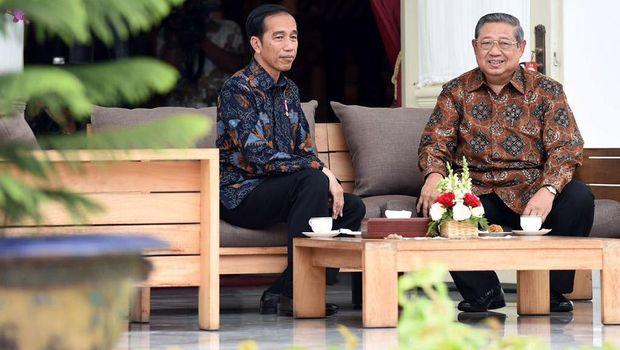 Megawati di Antara SBY dan Jokowi