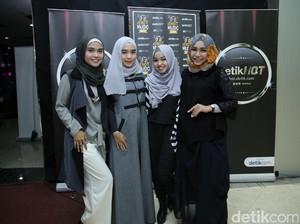 Turut Meriahkan dHot Music Day, 4 Finalis Sunsilk Hijab Hunt 2016 Memang Cinta Musik
