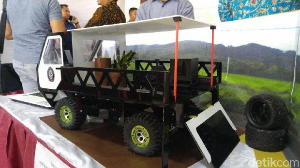 Prototipe mobil pedesaan garapan mahasiswa