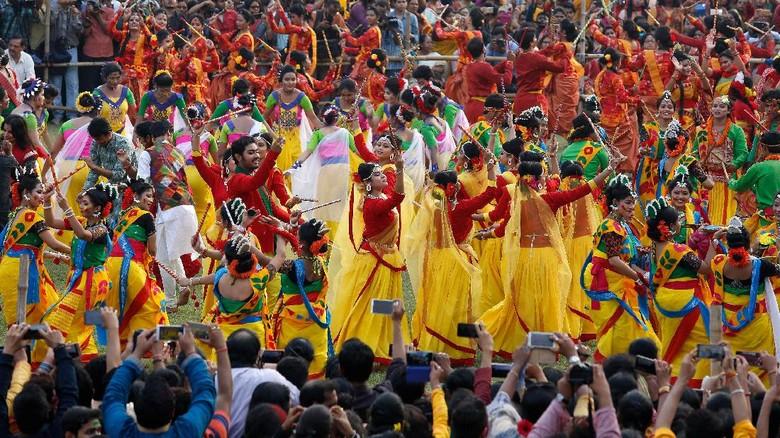 Foto: Festival Holi (REUTERS/Rupak De Chowdhuri)