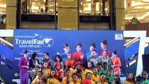 Alunan Nada Angklung Jadi Pembuka Garuda Travel Fair Bandung