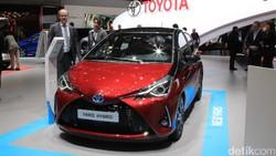 Kalahkan Land Rover dan Mercy, Toyota Yaris Mobil Terbaik Eropa 2021