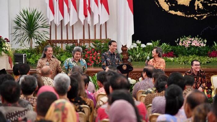 Presiden Jokowi dan musisi