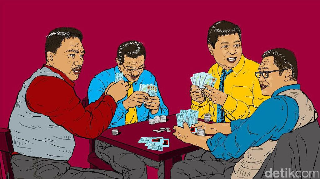 Banjir Dollar di Senayan