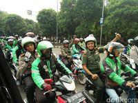 Ojek Online dan Sopir Angkot di Tangerang Gelar Deklarasi Damai