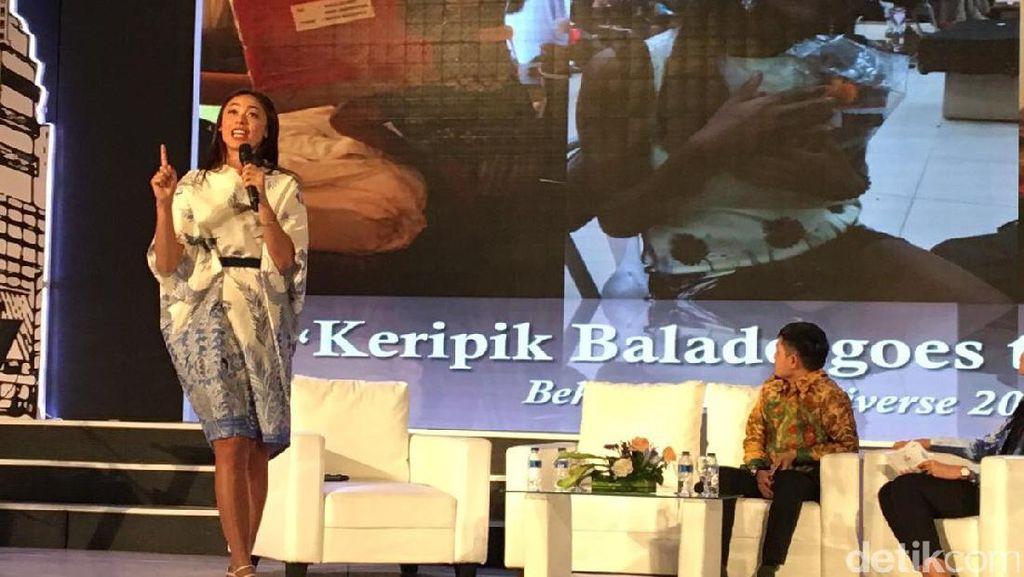 Cerita Puteri Indonesia Merintis Bisnis Baju dan Keripik Balado