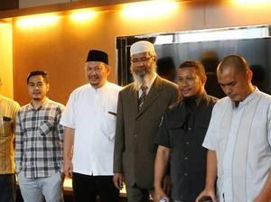 Zakir Naik Akan Safari Dakwah Selama 10 Hari di 6 Kota di Indonesia