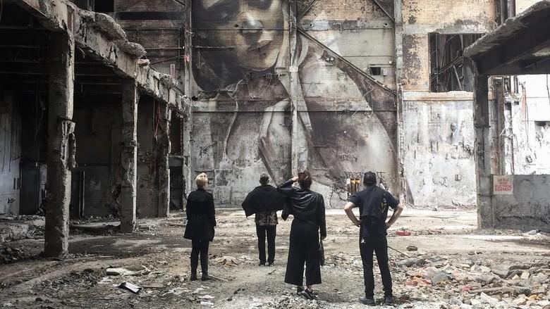 Bikin dan Langsung Hancurkan Lagi ala Seniman Mural Jalanan Australia