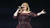 Ketiga ditempati oleh Adele. Foto: Getty Images