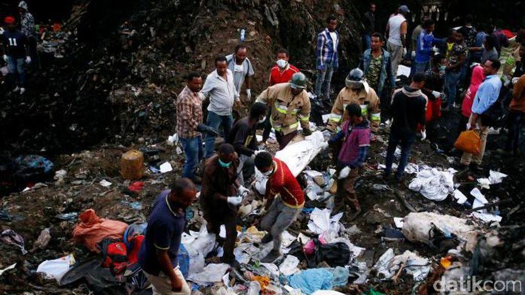 Korban Tewas Tumpukan Sampah Longsor di Ethiopia Jadi 50 Orang