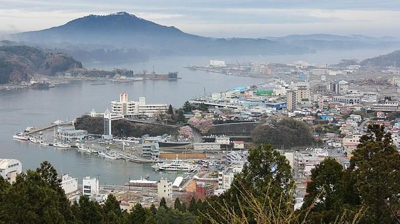 hasil laut Kesennuma di prefektur miyagi