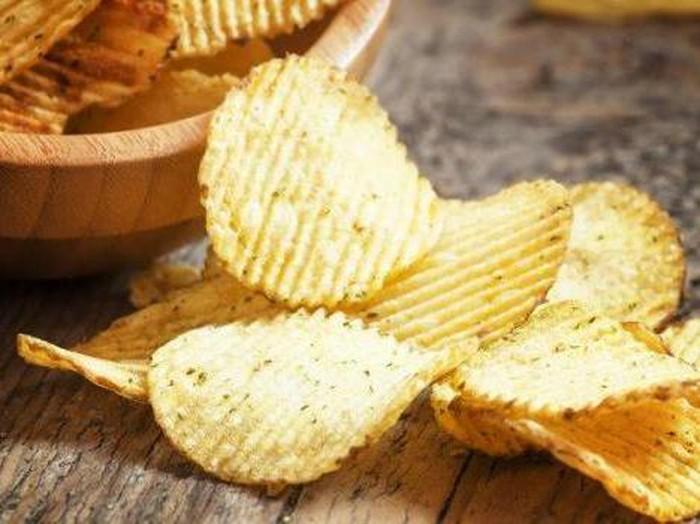 keripik kentang rasa unik