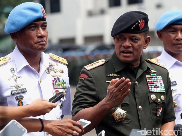 Panglima TNI Jenderal Gatot Nurmantyo (Grandyos Zafna/detikcom)