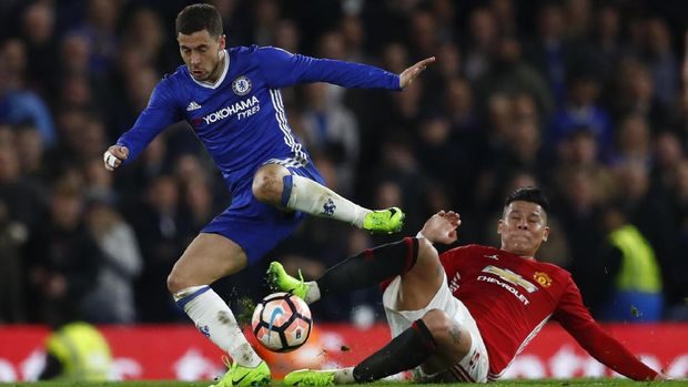 Chelsea bakal menjamu Manchester United di Stadion Stamford Bridge. (