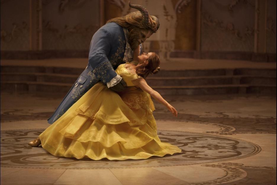 Screenshoot film 'Beauty and the Beast'.