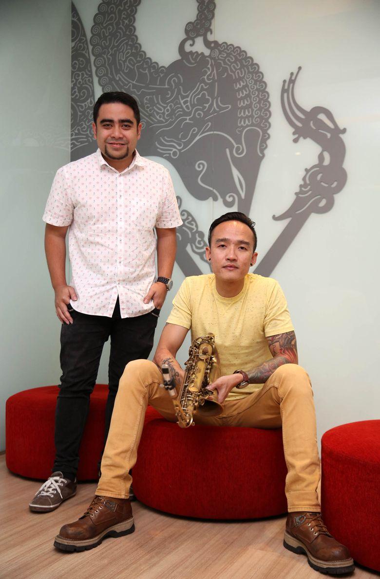 Abdul dan Rivan saat berkunjung ke kantor detikcom, Warung Buncit, Jakarta Selatan belum lama ini.