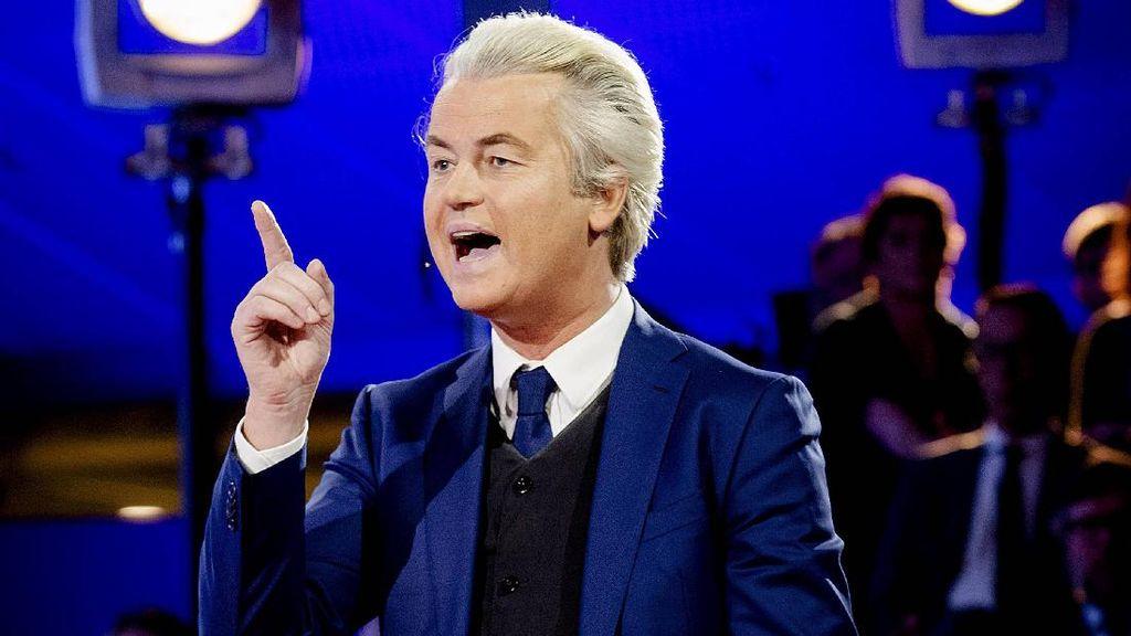 Marah Disebut Teroris, Erdogan Gugat Politikus Belanda Geert Wilders