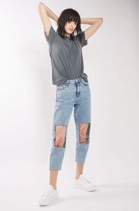 Ada-ada Saja, Topshop Rilis Jeans dengan Aksen Lutut Transparan