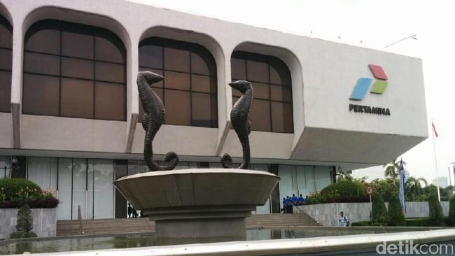 Gedung Pertamina/Foto: Danang Sugianto/detikFinance