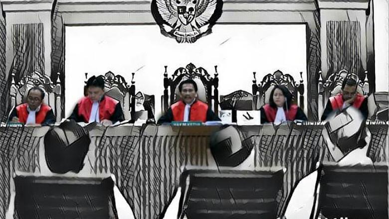 Hakim Beberkan Secarik Kertas Catatan Bagi-bagi Duit ke DPR