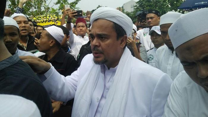 Habib Rizieq (Hary Lukita Wardani/detikcom)