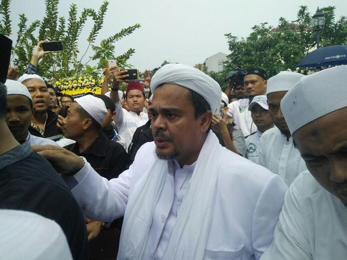 Habib Rizieq Syihab (dok. detikcom)