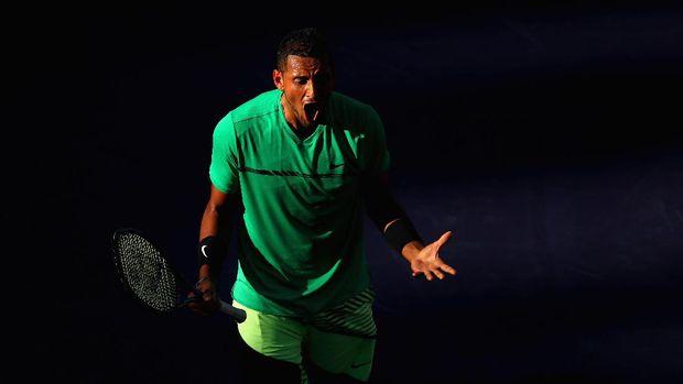 Kyrgios Tumbangkan Djokovic