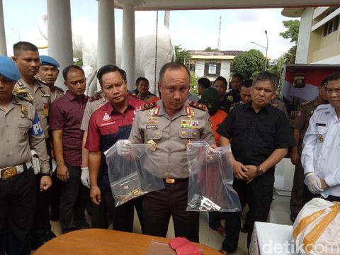 2 Pemasok Senpi Teroris Jaringan Solo Ditangkap di OKU Sumsel
