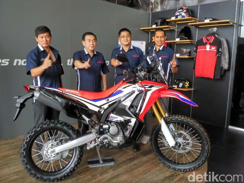 Honda Crf 250 Rally Hadir Di Yogyakarta